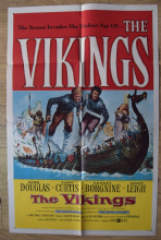 The Vikings Film Poster, US One Sheet